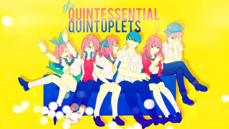 QuintessentialQuintuplets-Header-TV1-600-768x432 Anime by Genre