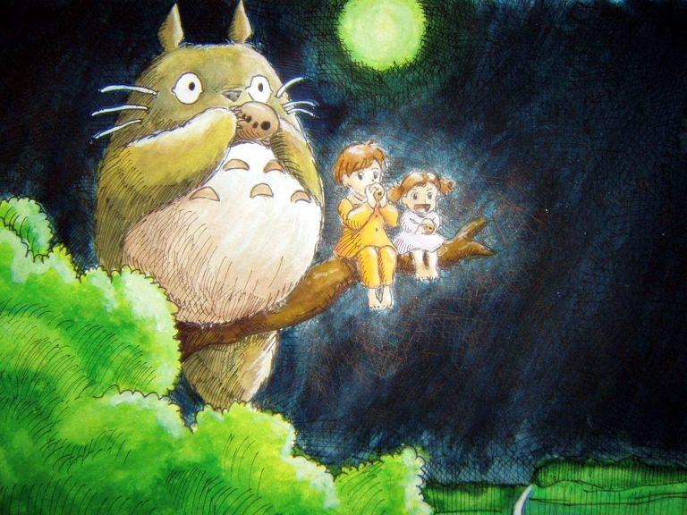 Totoro-WP2-O-768x576 My Neighbor Totoro Movie Review