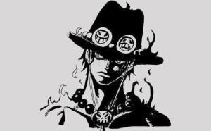 海賊王壁紙:當海賊人物擺出惡人臉,黑幫一姐娜美的表情好可怕。