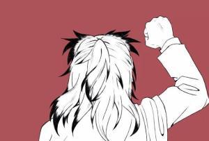 鬼滅之刃:九柱帥氣背影,師兄有點憨,炎柱一轉身就是一輩子。