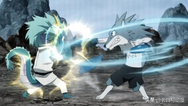 一拳超人:餓狼對戰水龍,本來能贏結果餓狼卻輸了