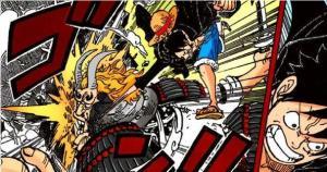 海賊王977話:尾田故意改變草帽團戰鬥次序,索隆排在了甚平之後。