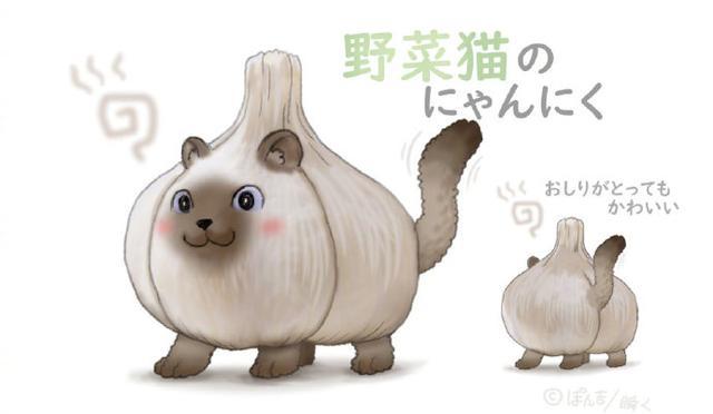 日本畫師把蔬菜和動物結合在一起,沒想到這麼可愛,還忍心吃麼?