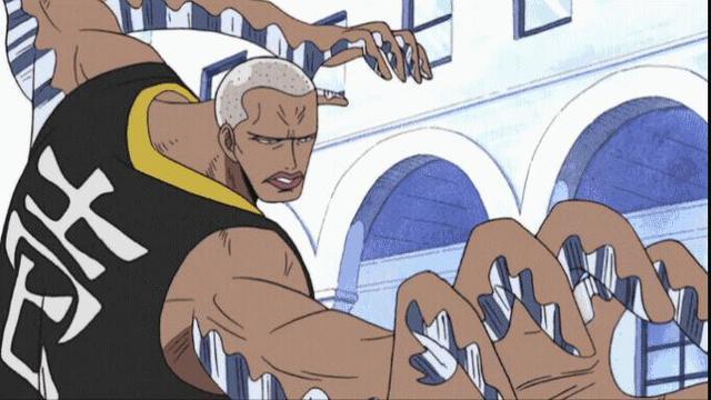 海賊王世界6位用爪的角色,黑胡子獨領風騷