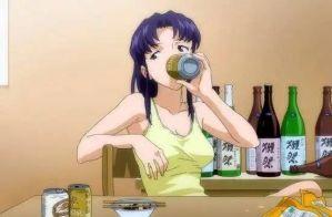 日媒投票,動畫中那些嗜酒如命的角色人氣排行,貓咪老師第一