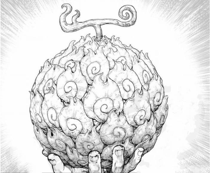《海賊王》艾斯漫畫第一話,信息量滿滿,吃燒燒果實還有另一個人