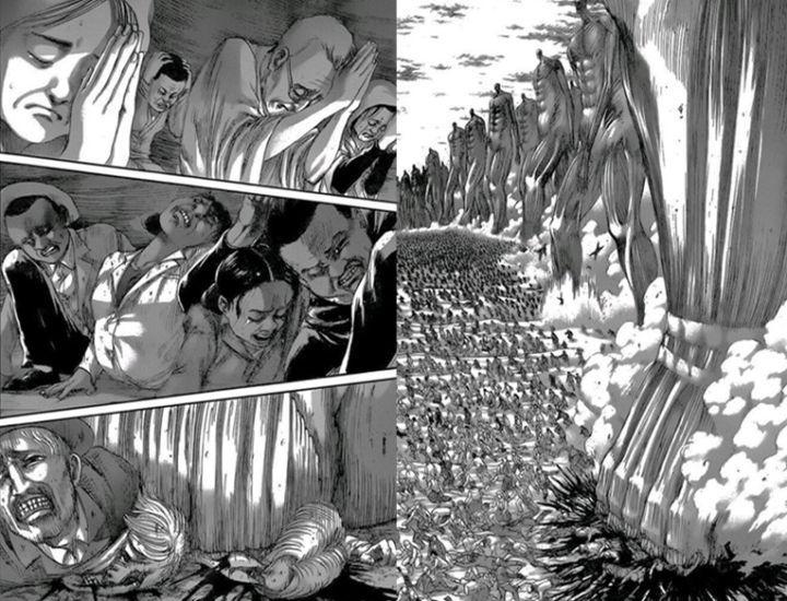 進擊的巨人134話:女王生產孩子父親是路人,吉克反水大戰萊納