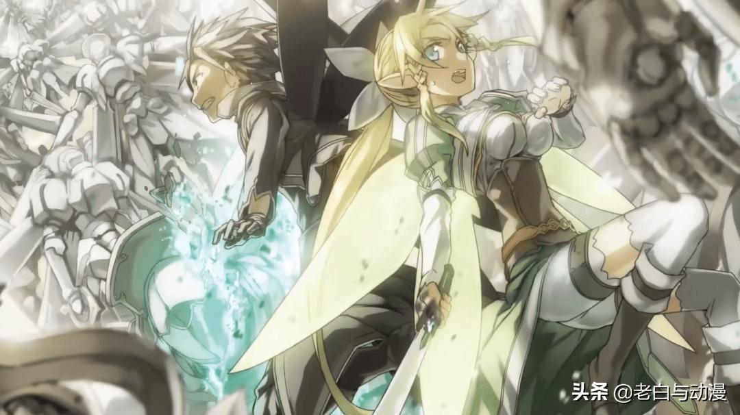 《刀劍神域》輕小說PV,新篇章UR來襲,神似尤吉歐的男人登場