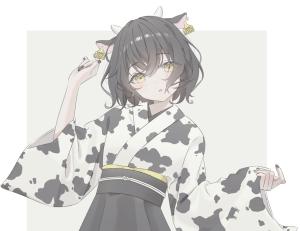 網友吐槽:為啥日本的「牛年賀圖」全是奶牛?