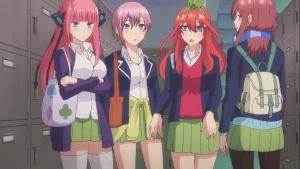 《五等分的花嫁》開播,畫風變化明顯,五姐妹終於不崩了
