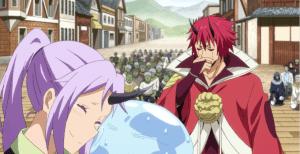 《轉生成史萊姆》紅丸坑萌王,讓他吃紫苑的料理,實際上很好吃