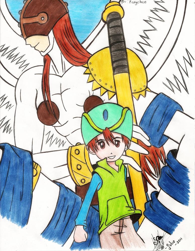 Digimon - angemon