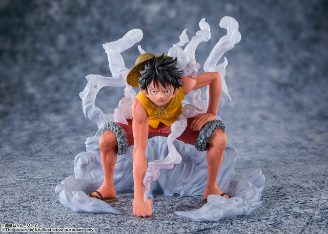 Luffy, a young man whose body gai. One Piece I Will Save Ace Luffy Comes To Life In Gear 2 Version Figurine Anime Anime Global