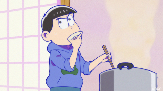 Osomatsu San Sextuplets Will Challenge Housework You May See Their Rare Working Here Comes The Episode 9 Preceding Cut Anime Anime Global