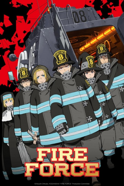 Turning up the Heat With Fire Force Series Review!