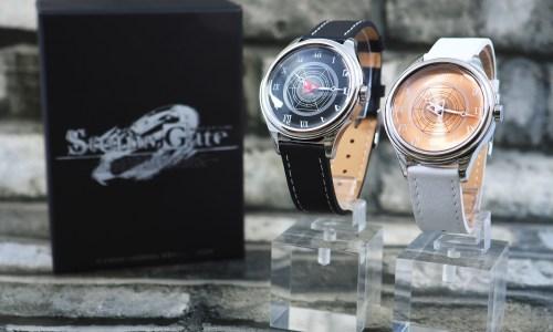 アニメ「STEINS;GATE 0」公認腕時計が発売  クール&スタイリッシュな創りで登場!