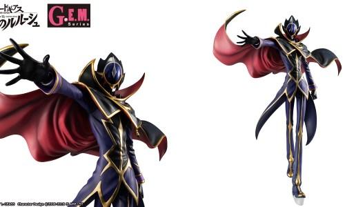 コードギアス 復活のルルーシュ、仮面の男「ゼロ」の新フィギュア! 全高約25cm、差し替えパーツで4種の表情に