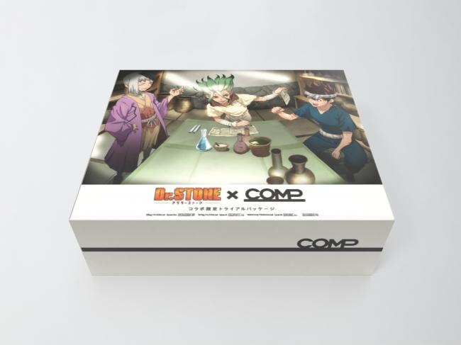Dr.STONE x COMP コラボパッケージ