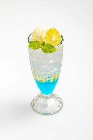 ブルーシトロン(柚子)ソーダ