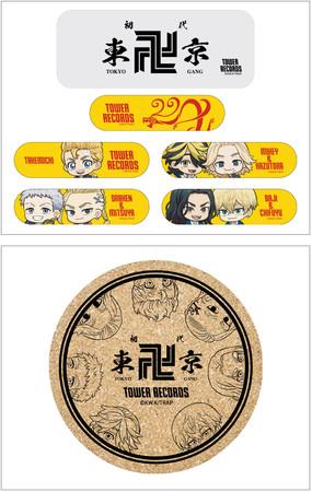 上:缶入り絆創膏/下:コルクコースター