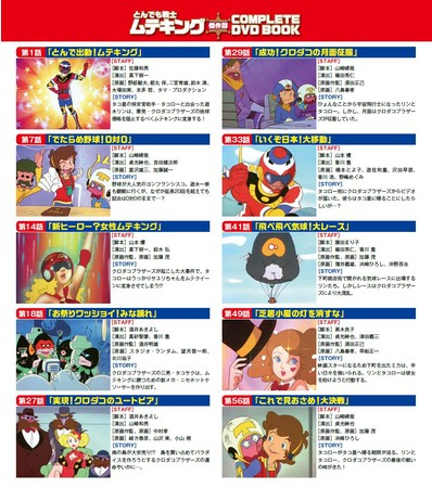 『とんでも戦士ムテキング 傑作回COMPLETE DVD BOOK』©タツノコプロ