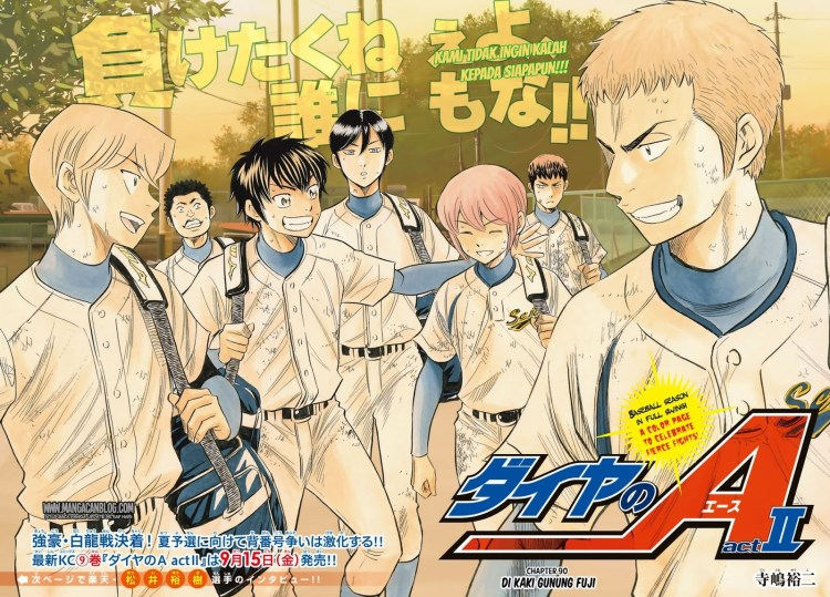 Anime Ost: Download Opening Ending Diamond no Ace: Act II