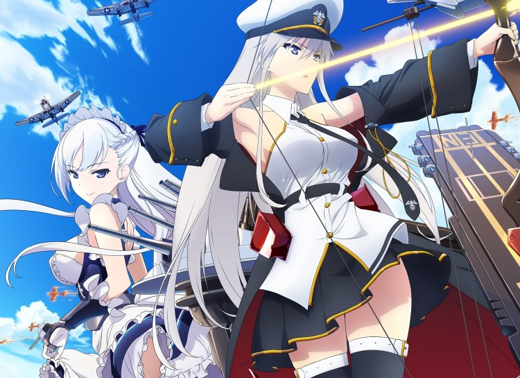 Anime Ost: Download Opening Ending Azur Lane