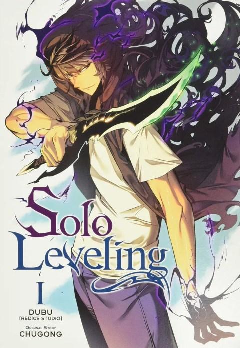 Solo Leveling Manhwa Cover
