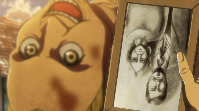 進撃の巨人 コニーの両親の写真