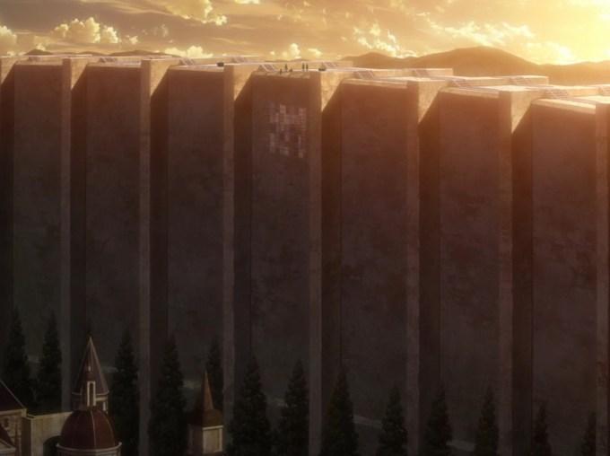 進撃の巨人 壁