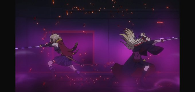 RELEASE THE SPYCE 9話 一閃
