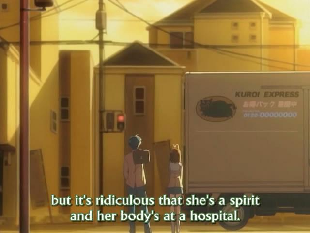 Some screenwriter in the bowels of KyoAni must be taking a potshot here!
