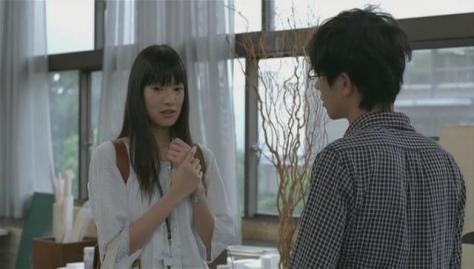 Yamada and Mayama being awkward, again