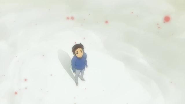 Don't eat the red snow, Shinichiro