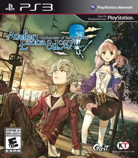 Atelier Escha & Logy_Final Box Art