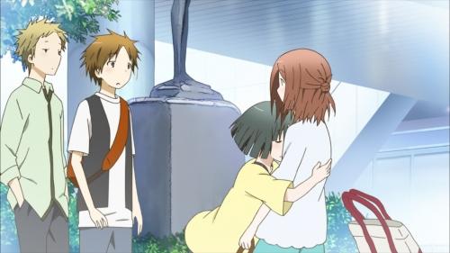 Ahh, I want to hug Kaori-chan too!