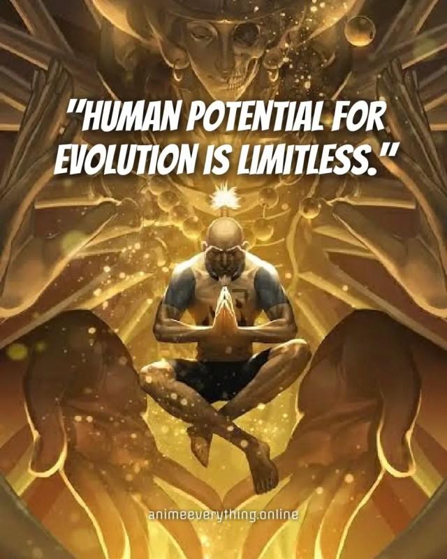 Chairman Netero Hunter x Hunter quotes