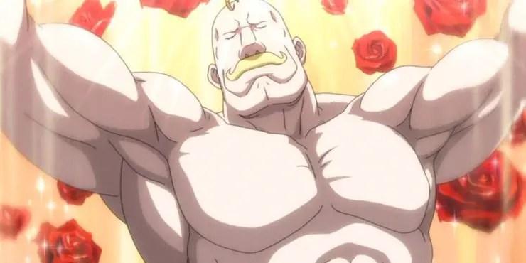 powerful bald anime characters