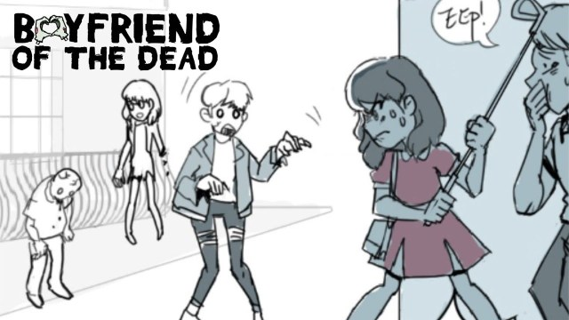 Boy friend of the dead comedy webtoon recommendation