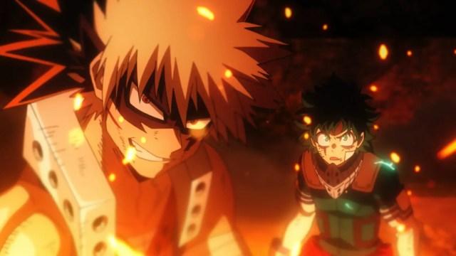 my hero academia best action anime