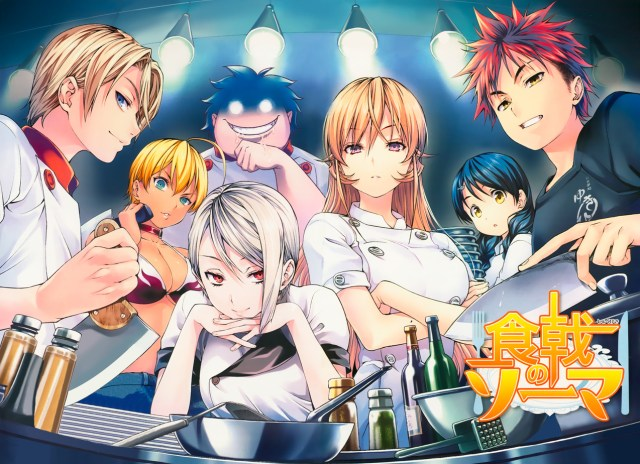 Food wars ecchi harem cooking anime