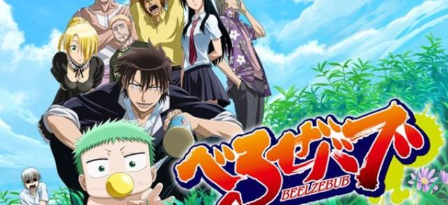 beelzebub - Anime with overpowered main characters