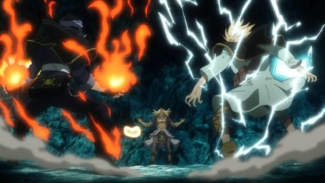 Black Bulls vs Vetto epic anime fights