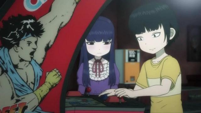 Hi score girl - 3D rom-com anime