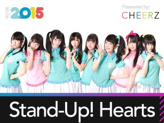 Special Guest: Stand-Up! Hearts