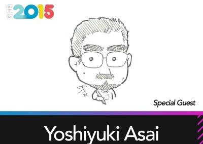 Special Guest: Yoshiyuki Asai