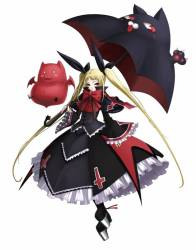 Rachel-Alucard is the token loli character, and thus is my back up character after I tire of Arakune's antics