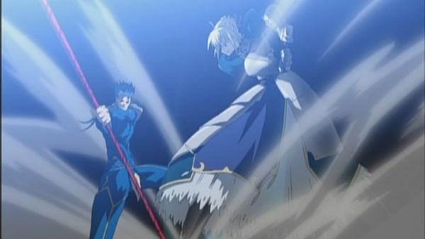 Fate/stay night – curtain raiser