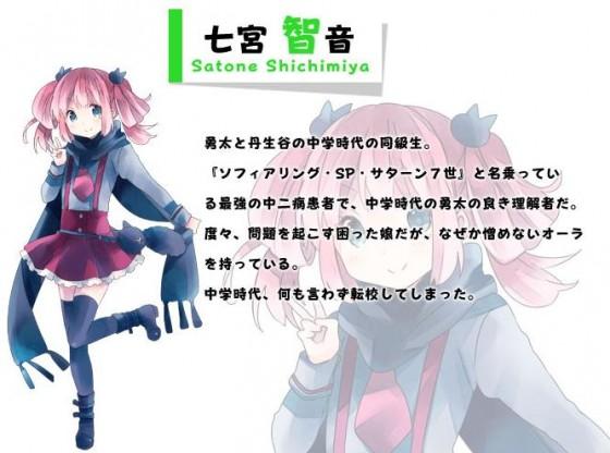 Ny person i anden sæson Chuunibyou Demo Koi ga Shitai!