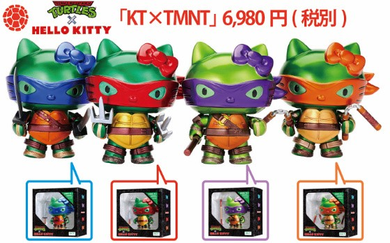 Hello Kitty x Teenage Mutant Ninja Turtles
